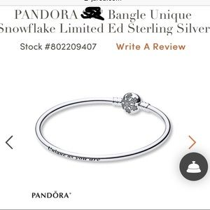 Pandora Jewelry - 7.1 small bangle
